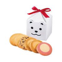 ステラおばさんのクッキー カントリーベアテントボックス(白) 1個 アントステラ 手土産 ギフト 母の日 父の日 敬老の日