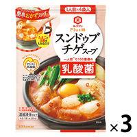 キッコーマン Plus鍋 スンドゥブチゲスープ 3袋