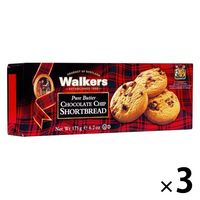 ウォーカー チョコチップ ショートブレッド 175g 1セット(3個)