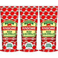 カゴメ トマトケチャップ 500g 3本 2803