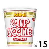 日清食品 カップヌードル ミニ 25051 1セット(15食)