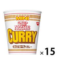 日清食品 カップヌードル カレー ミニ 25052 1セット(15食)
