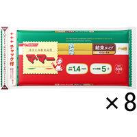 日清フーズ マ・マー チャック付結束スパゲティ 1.4mm (600g) ×8個