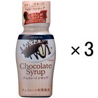 明治屋 チョコレートシロップ 200g 1セット(3本)