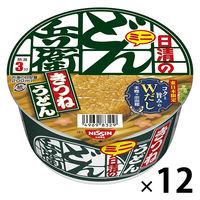 日清食品 日清のどん兵衛 きつねうどんミニ(東日本版) 12個