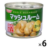清水食品 マッシュルーム(ホール) 65g 6缶