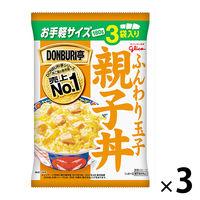 江崎グリコ DONBURI亭3食パック親子丼 1セット(9食)