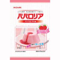 かんてんぱぱ ババロリア ストロベリー 1個(200g)