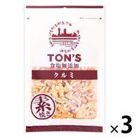 東洋ナッツ食品 食塩無添加クルミ大 3袋 おつまみ 木の実 ナッツ