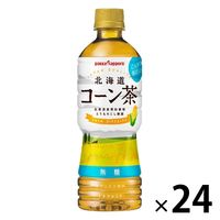 ポッカサッポロ 北海道コーン茶 525ml 1箱(24本入)