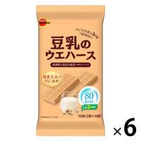 ブルボン 豆乳のウエハース 6袋 クッキー 洋菓子
