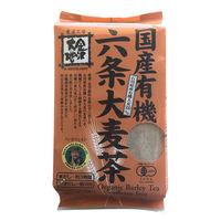 金沢大地 国産有機六条大麦茶ティーバッグ 1個(40バッグ入)
