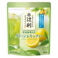 片岡物産 辻利 宇治抹茶入りグリーン レモン ティー 1袋(180g)