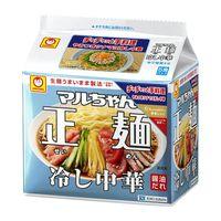 マルちゃん正麺 冷し中華 118g 5食パック 10袋 東洋水産