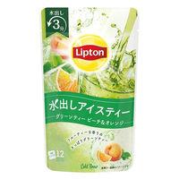 【水出し】リプトン コールドブリュー グリーンティー ピーチ&オレンジティー 1袋(12バッグ入)