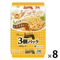 パックごはん 24食 もち麦プラス ドライカレー(3食入)× 8個 東洋水産 米加工品 包装米飯