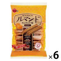 ブルボン ルマンド キャラメル味 6袋 クッキー ビスケット お菓子