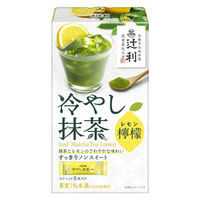 片岡物産 辻利 冷やし抹茶 檸檬 1箱(5本入)