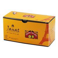Janat(ジャンナッツ) ブラックシリーズ オリジナルアールグレイ 1箱(25バッグ入)