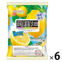 マンナンライフ 蒟蒻畑 レモン味 6袋 ゼリー お菓子