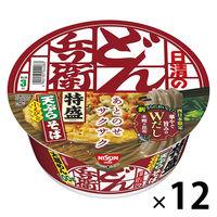 日清食品 日清のどん兵衛 特盛天ぷらそば(西日本版) 12個