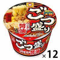 マルちゃん ごつ盛りワンタン醤油ラーメン 117g 1セット(12個)