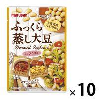 マルサンアイ ふっくら蒸し大豆 100g 北海道産大豆100% 1セット(10袋)