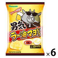 山芳製菓 男気ラー油マヨビーフ 6袋 ポテトチップス スナック菓子