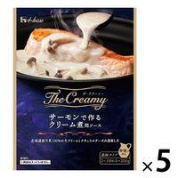 The Creamy サーモンで作るクリーム煮用ソース 200g 5個 ハウス食品