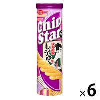ヤマザキビスケット チップスターL 江戸前風しょうゆ味 6個 ポテトチップス スナック菓子