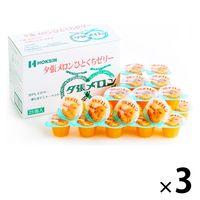 北辰フーズ 夕張メロンひとくちゼリー MM-8B 3箱 洋菓子 ギフト 手土産