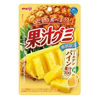 明治 果汁グミ ゴールデンパイン 4袋