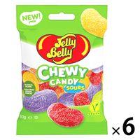 Jelly Belly(ジェリーベリー) チュウイキャンディ サワーフルーツミックス 6袋 グミ 輸入菓子