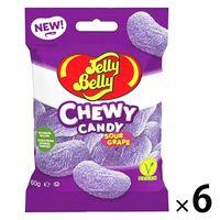 Jelly Belly(ジェリーベリー) チュウイキャンディ グレープ 6袋 グミ 輸入菓子