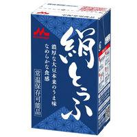 豆腐24丁 常温 絹とうふ 12丁入 2箱(計24丁) 森永乳業