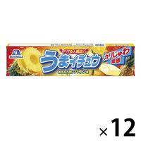 森永製菓 うまイチュウ<パイン味> 12本 ハイチュウ ソフトキャンディ