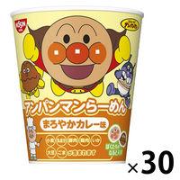 カップ麺 アンパンマンらーめん まろやかカレー味 38g 1セット(30個) 日清食品