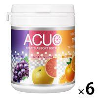 ロッテ ACUO3種アソートボトル 6個 ガム