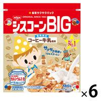 日清シスコ シスコーンBIG コーヒー牛乳風味 6袋 シリアル