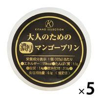 北野エース〈キタノセレクション〉大人のための濃厚マンゴープリン 1セット(5個)