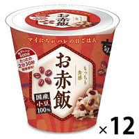 パックごはん12食 旬 de riz お赤飯160g 12個幸南食糧