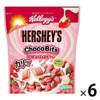 日本ケロッグ ケロッグ ハーシー チョコビッツ いちごホワイトチョコレート 280g 6袋 シリアル