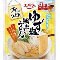 エバラ食品 プチッとうどん ゆず塩鯛だしうどん(21g×4個) 3個 麺つゆ