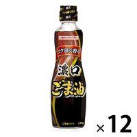 ゴマ油 濃口 ごま油 340g 14219 12本 味の素 J-オイルミルズ