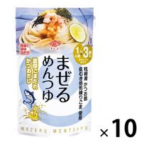 チョーコー醤油 まぜるめんつゆ 濃厚ごまだれかつおだし(30g×3袋) 10個