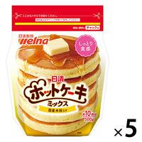 日清フーズ 日清 ホットケーキミックス チャック付 ×5個