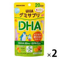 UHA味覚糖 UHAグミサプリKIDS DHA 20日分SP 2個