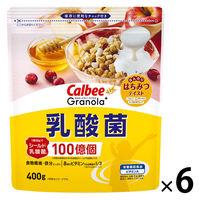 カルビー グラノーラプラス乳酸菌 400g 6袋 シリアル グラノーラ