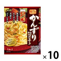 エスビー食品 【期間限定】麺日和 かんずりペペロンチーノ 10個 麺つゆ