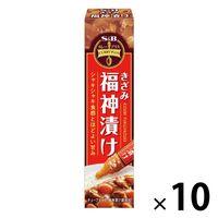 エスビー食品 カレープラス きざみ福神漬け 10個